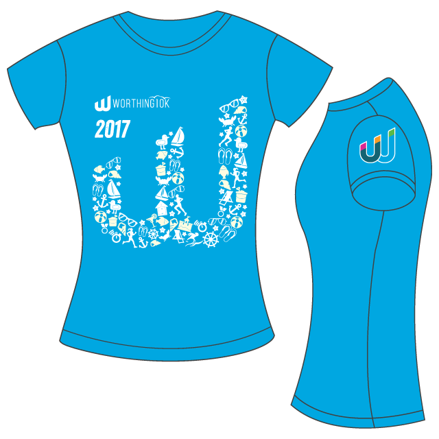 Female fit technical t-shirt Image